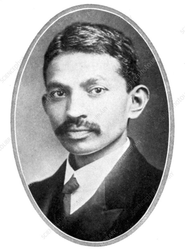 Mohondas Karamchand Gandhi, as a young man