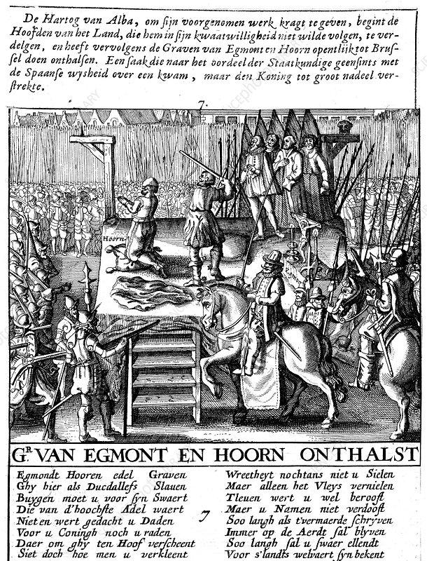 Spanish tyranny in Netherlands, 1568