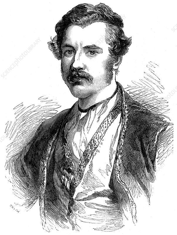Austen Henry Layard, British archaeologist and diplomat