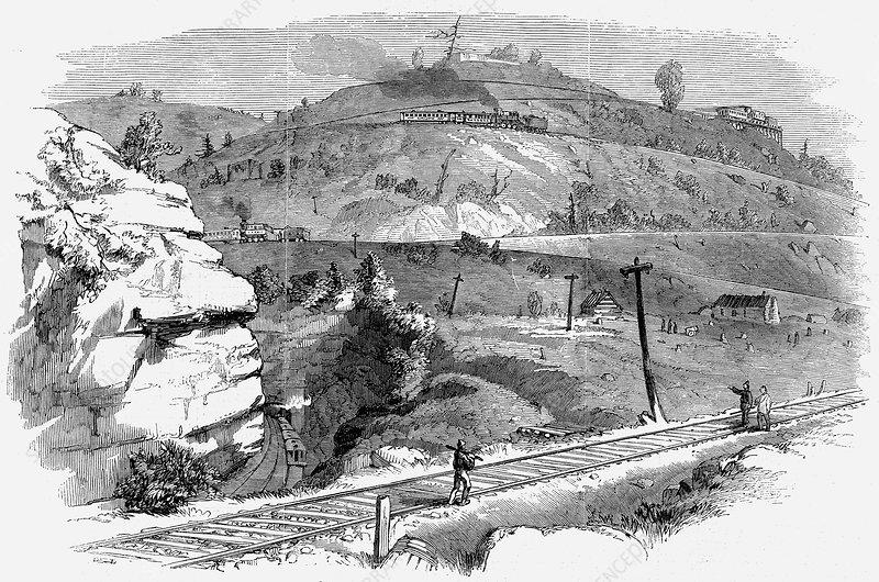 Baltimore and Ohio Railroad, North America