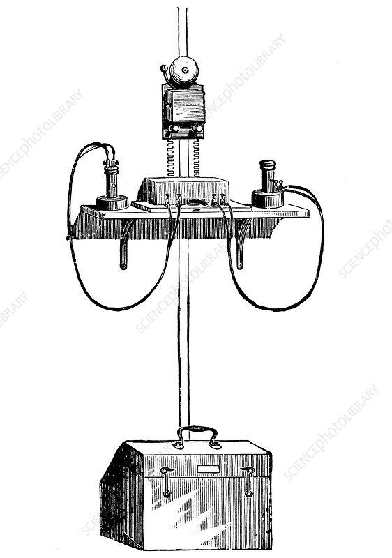 Edison carbon telephone, 1890
