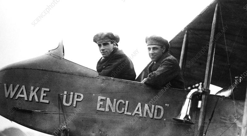 Graham White and RT Gates, British pioneer aviators