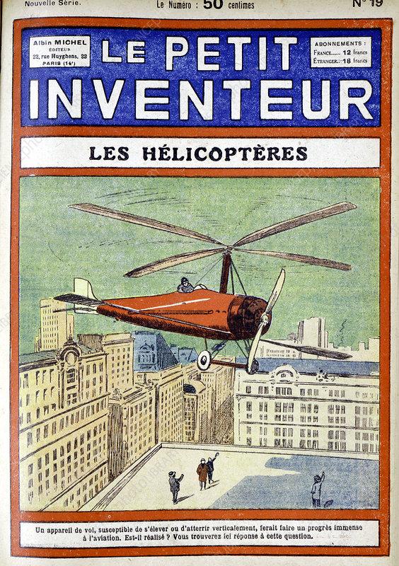 Autogiro, designed by Juan de la Cierva, 1928