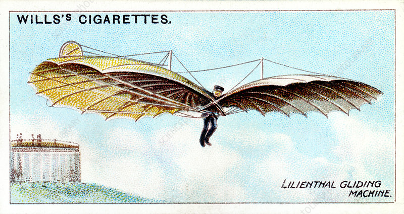 Otto Lilienthal, German gliding pioneer and inventor