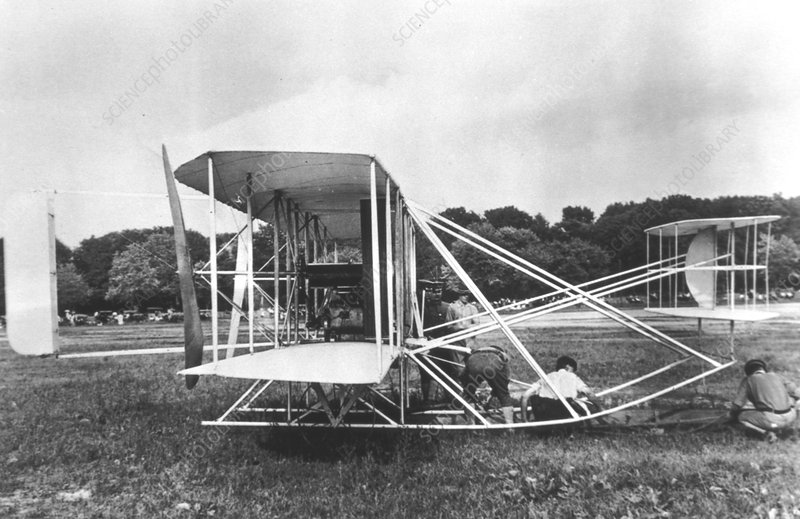 Wright Brothers' Military Flyer of 1909