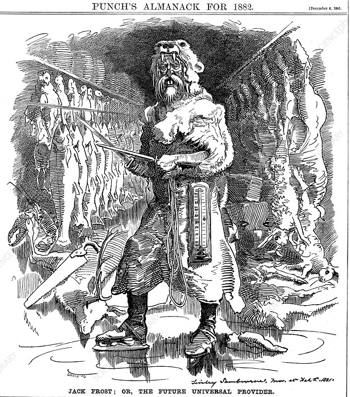 Jack Frost; or, the Future Universal Provider', 1881