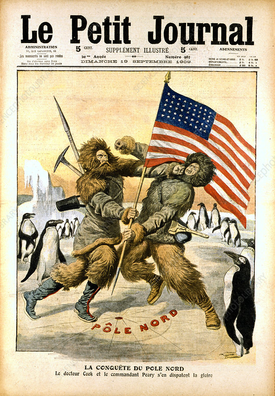 Dispute over who was the first to reach the North Pole, 1909