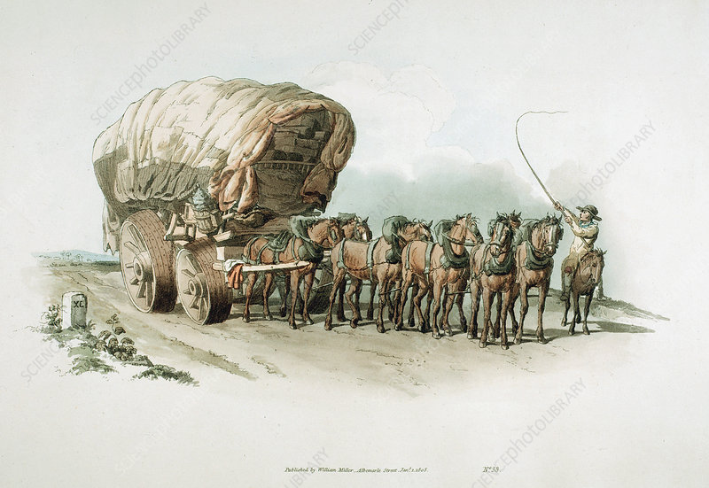 Stage wagon, 1805