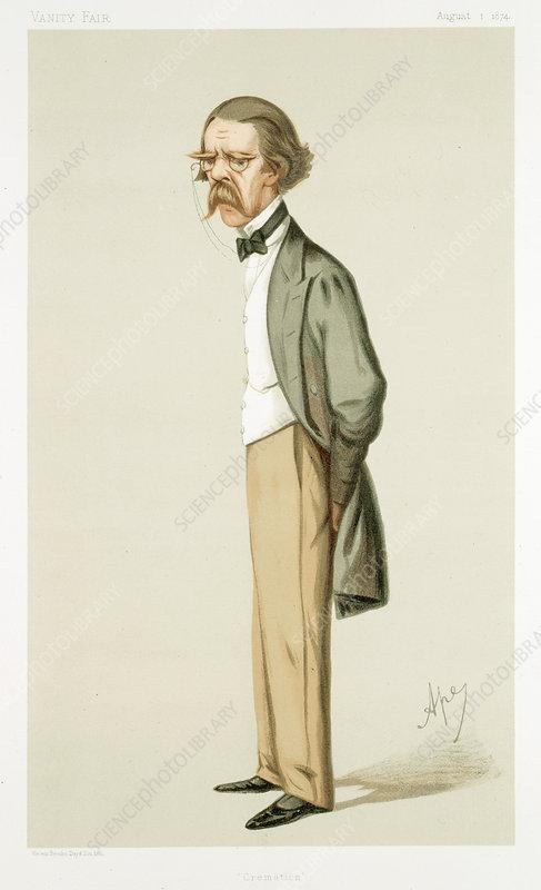 Henry Thompson (1820-1904), British surgeon, 1874