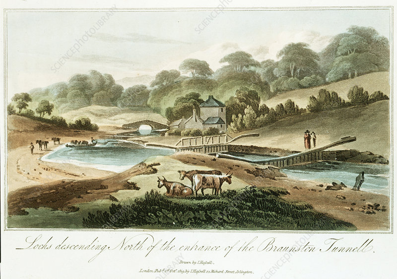 Grand Junction Canal, Northampstonshire, 1819