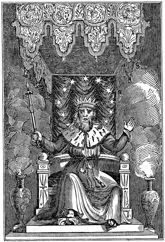 Thor, the second god in the ancient Scandinavian pantheon