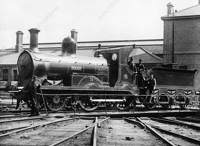 Midlands and Great Western Railway 2-4-0 locomotive