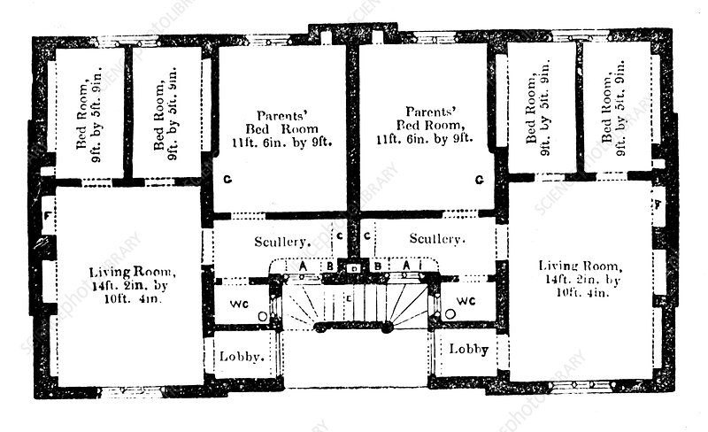 Prince Albert's model dwellings for the labouring classes