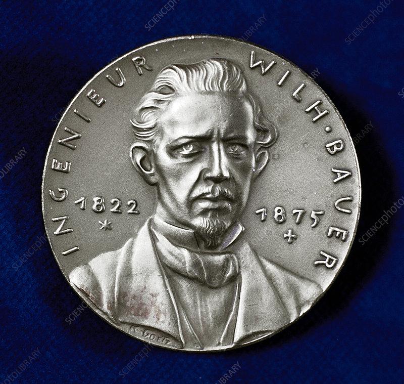 Wilhelm Bauer, German inventor