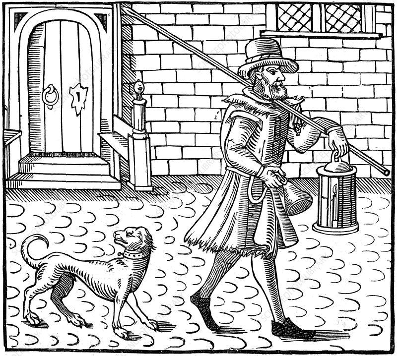 The Bellman of London, 1616