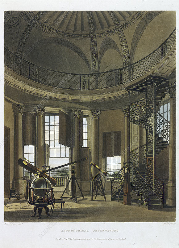 Astronomical Observatory, 1814