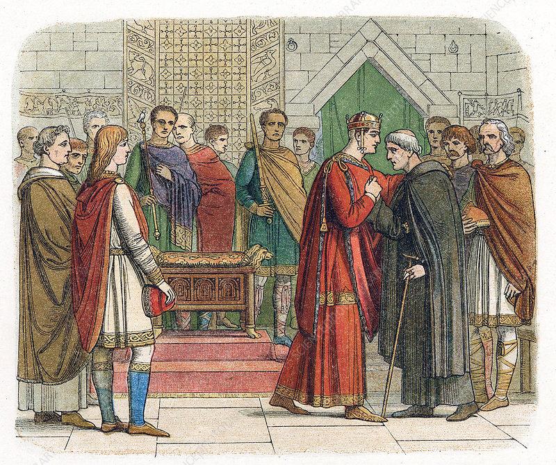 William I, the Conqueror, King of England, c1067