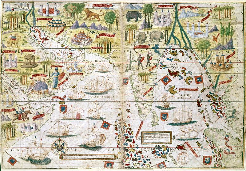 Miller Atlas, c1519