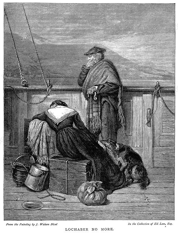 Lochaber no More', 1886