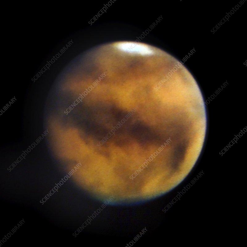 Mars colour photograph, 1956