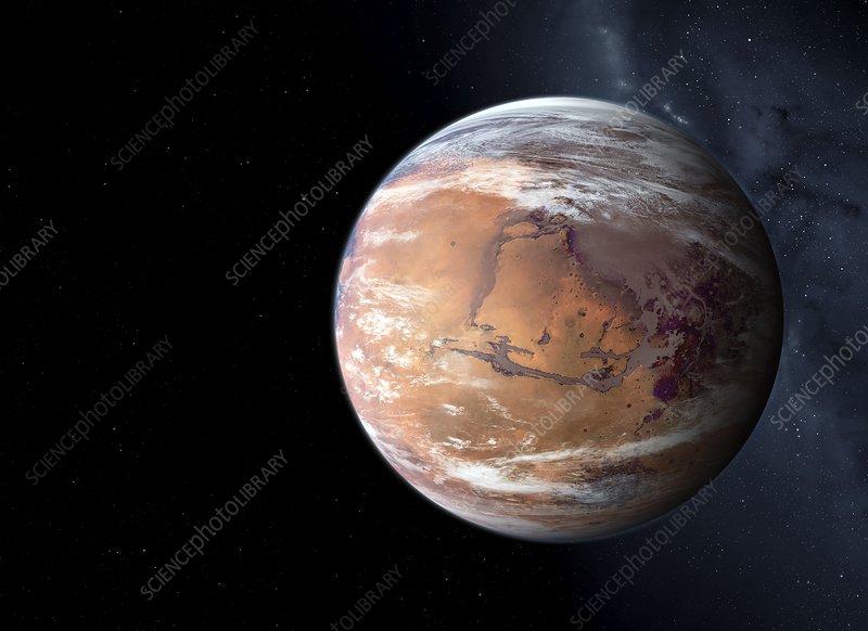 Terraformed Mars, illustration
