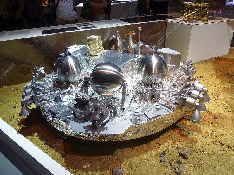 Schiaparelli ExoMars EDM lander model