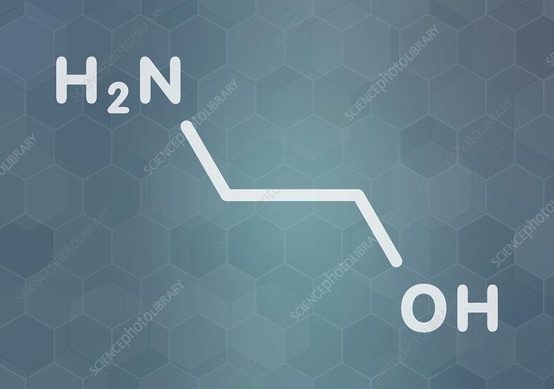 Ethanolamine molecule