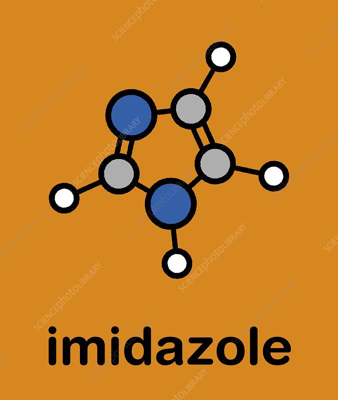 Imidazole organic heterocyclic molecule