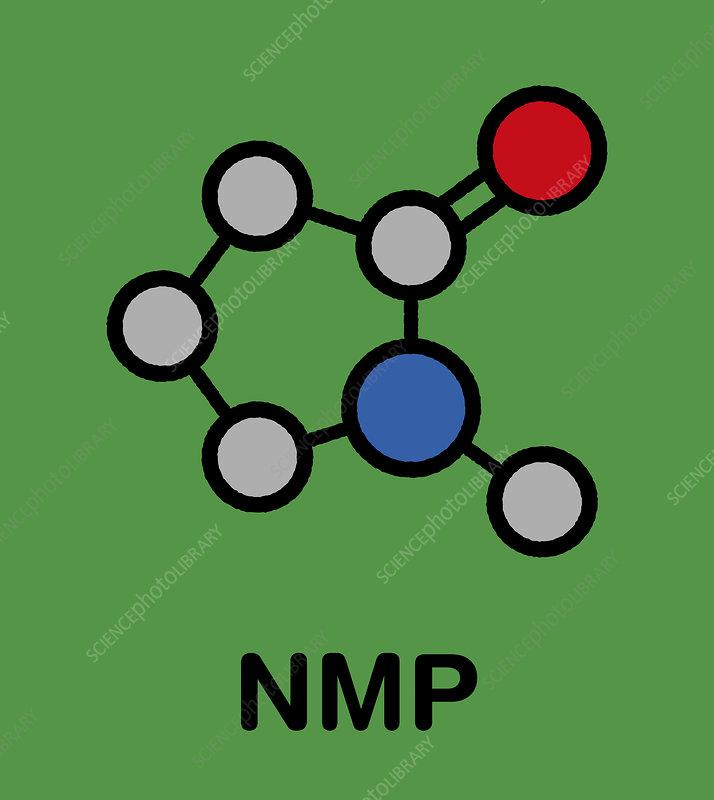 NMP solvent molecule