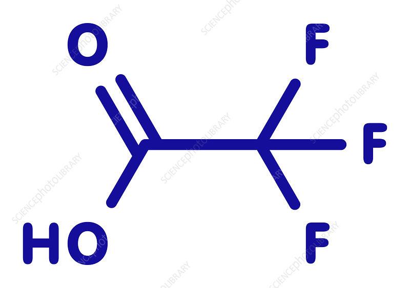Trifluoroacetic acid molecule