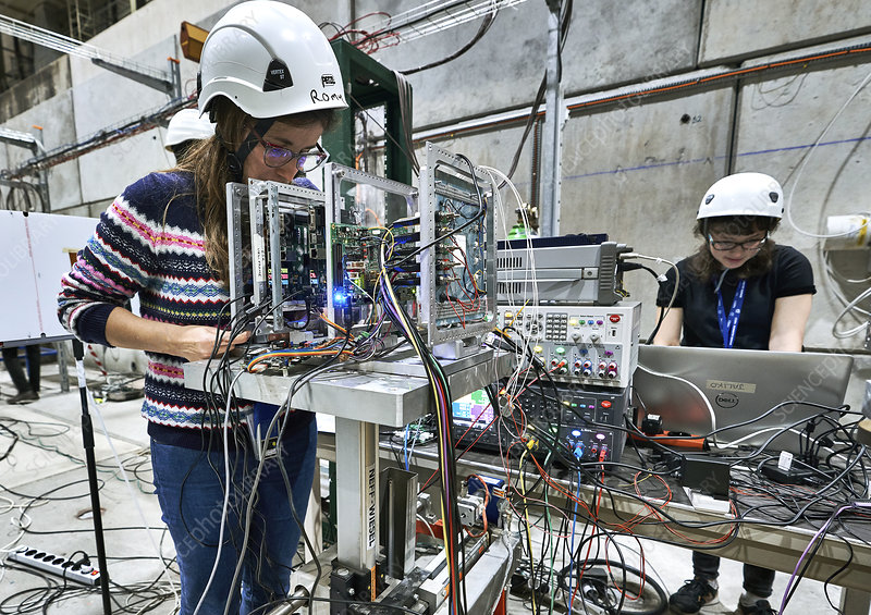 Artificial intelligence chip tested at CERN for use in space