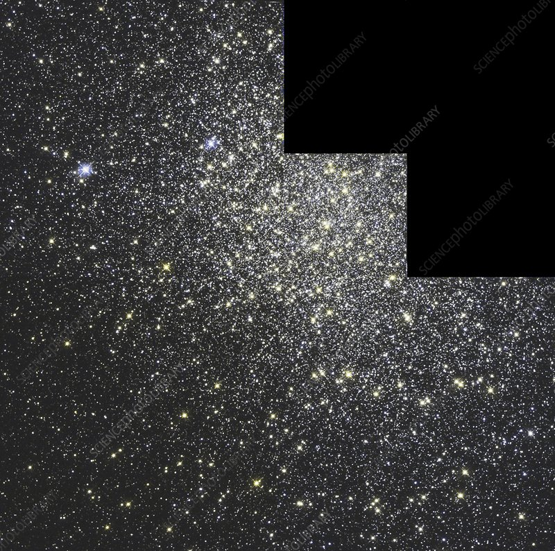 Messier 19 globular star cluster, Hubble image