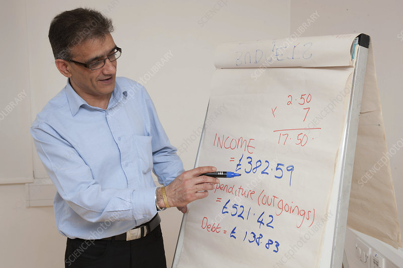 Leading a budgeting meeting