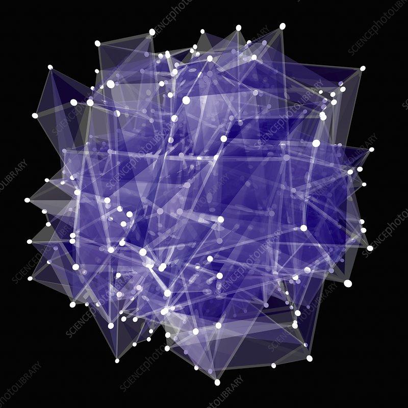 Network, conceptual illustration