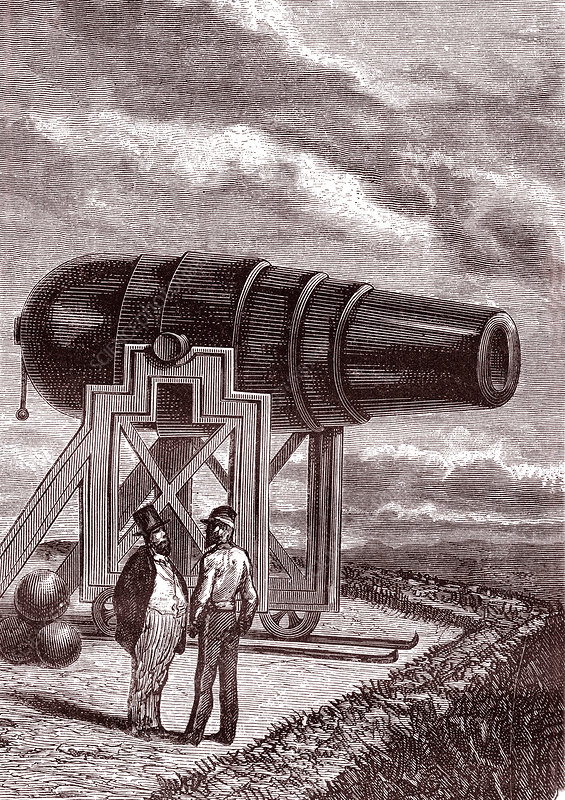 Jules Verne's 'From the Earth to the Moon' (1865)