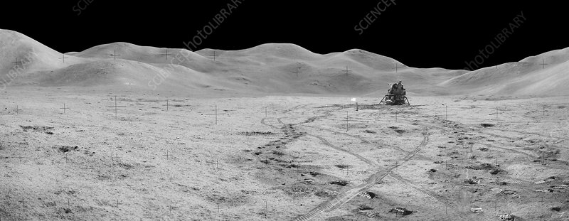 Apollo 15 exploration of the Moon, August 1971