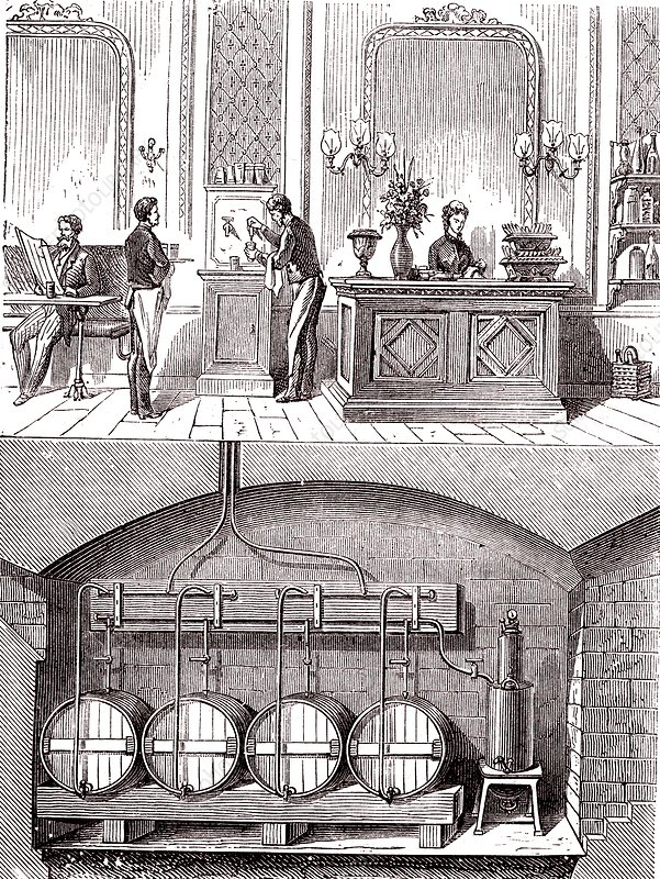 Beer industry, 19th century