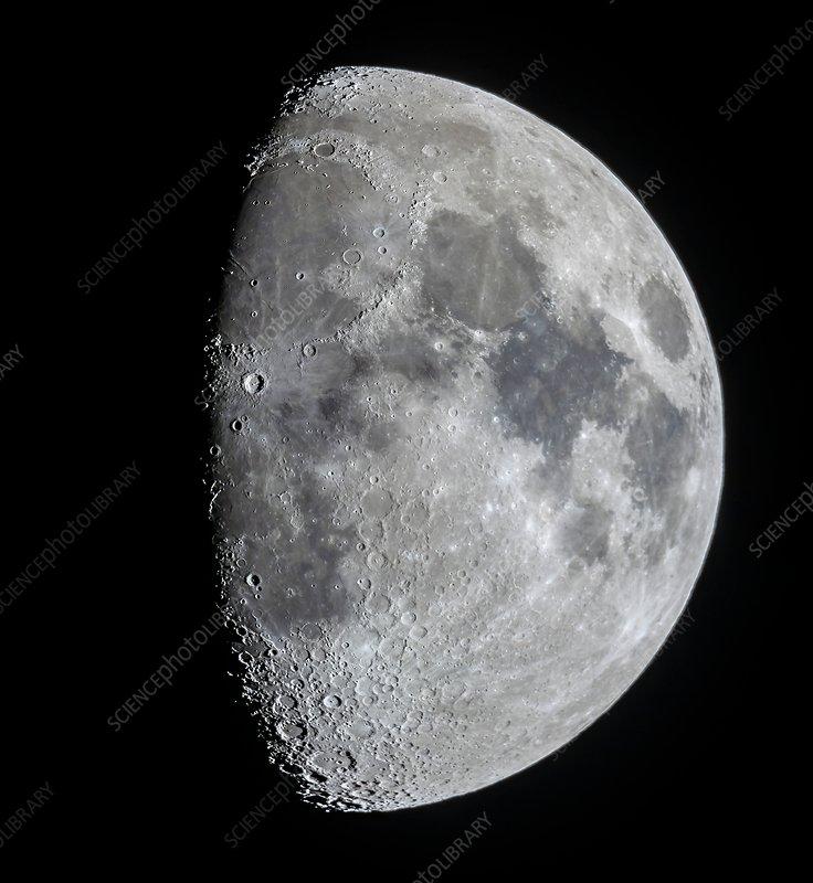 Nine day old Moon