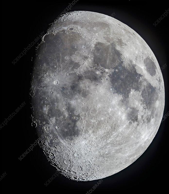 Ten day old Moon