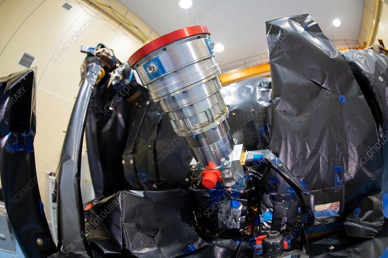 CHEOPS exoplanet-observing satellite final integration