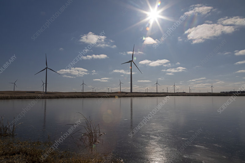 Windfarm, North Dakota, USA