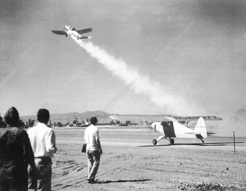 Early jet-assisted take-off (JATO) flight, 1941