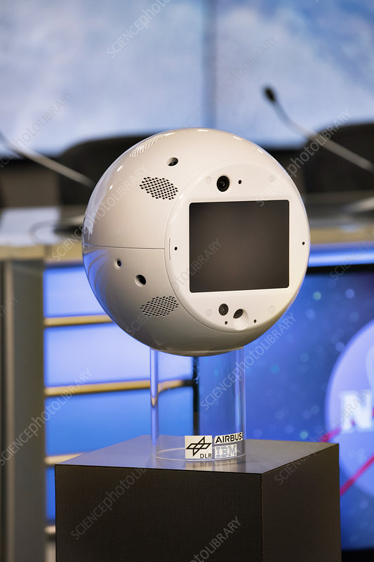 CIMON artificial intelligence system for the ISS