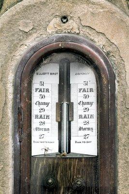 Nineteenth century barometer