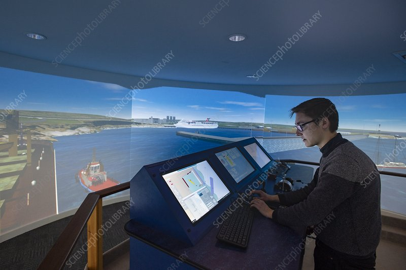 Port and harbour design and training simulator