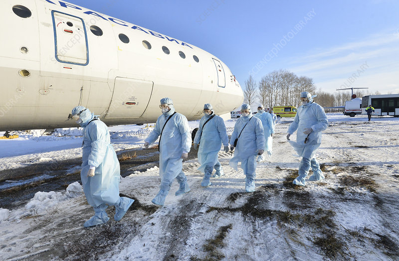 Infection control exercise, Russia
