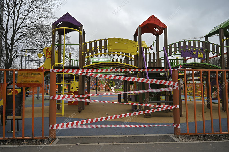 Playground closed during Covid-19 outbreak
