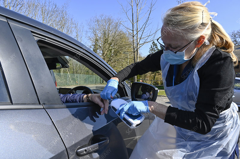 Drive-through warfarin testing during coronavirus outbreak