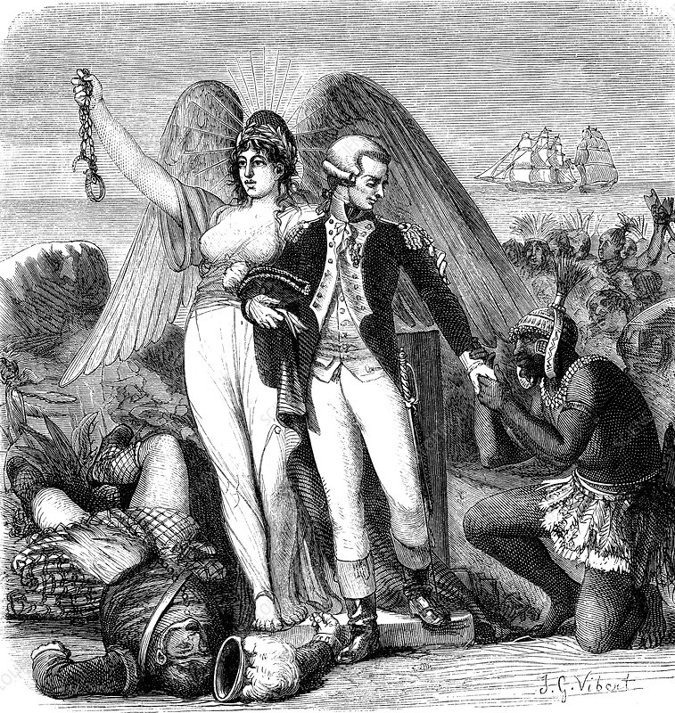 Marquis de Lafayette, French General, in America