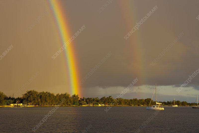 Rainbow, Rotoava, French Polynesia
